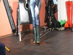MDH Redhead Wetting Jeans