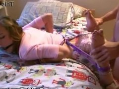 TEEN GETS TIED UP