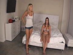 Katie Cummings Punishes Nikki By Sitting On Her