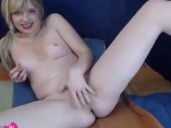 Awesome blue eyed 18 Lydia with tight holes and small tits - 18flirt.net
