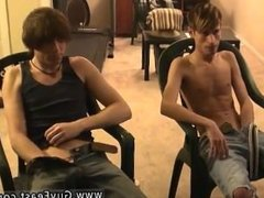 Long haired male models Jared is nervous about his first time jacking off