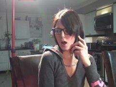 burping on the phone