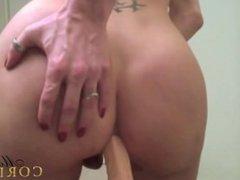 Mariana Cordoba riding dildo