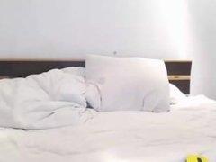 nightseduce webcam show ohmibod on the bed