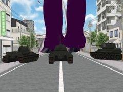 MMD Giantess Attack