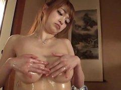 Smashing oral porn play with adorable Mikuru