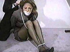 Secretary tied up