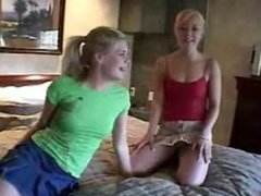 Summer And Kimmie Teen Lesbian Fun