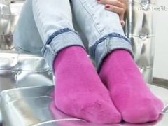 Sneakers socks soles
