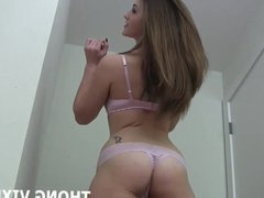 What do you think about my sexy new thong JOI