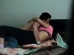 cute face girlfriend making out with sexy boy
