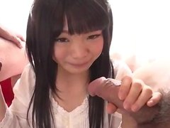 Moka Minaduki gets cum on face after a good