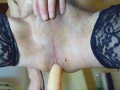 ass fuck with dildo