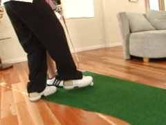 Kagney Linn Karter + Jay Lassiter (Caddie Gets Railed by Golfer!)