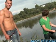 Gay kissing sex skater Anal Sex by The Lake!