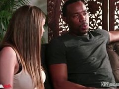 Brooklyn Chase Fucks Her Black Step-Brother