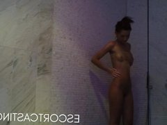 Skinny Teen Escort Caught On Hidden Camera