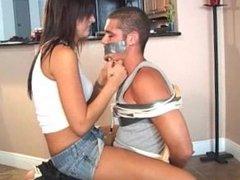 Girl Tapegagging Guy 2