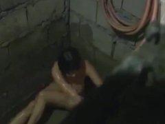 Gwen Garci - Bigasan Shower Scene