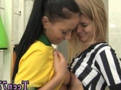Lesbian sucking Brazilian player plowing the referee