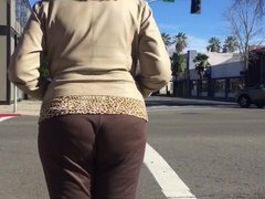 Tall Blonde MILF (lunch break walk)