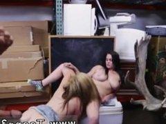 Big tit blonde teen first first time Lesbians Pawn Their Asses!