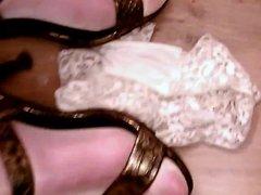 Cum on my Heeled Feet