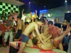 Poor guy sex first time This male stripper party is racing towards a