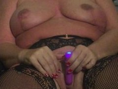 Stripping and Masturbating for the Camera - Part 2 - with a toy