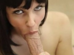 Bobbi Starr Swallows Cock And Balls At Once In Extreme Hot Deepthroat