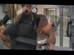 Female Bodybuilder Gym