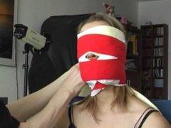 Female German Burgler Chairtied Part 2