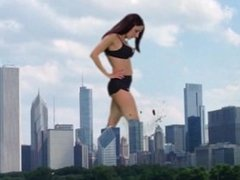 Giantess: These Boots are made for walkin