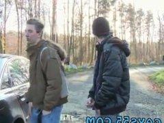 Gay fuck boys teen sex first time Outdoor Anal Fun