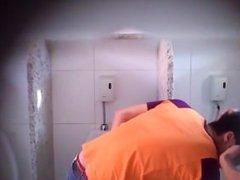 Spy Cam Public Toilet.