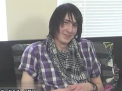 Sex emo cute boys kiss fuck first time Adorable emo guy Andy is new to
