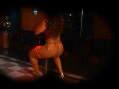 Tanned Sin Saga - Pole Dancing