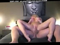 Gorgeous Busty Blonde Gets Fucked & Facial