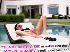 Hot Day Pool Masterbation