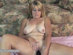 Mature Slut Liisa is Fucking Her Plump Pussy - DATEMYMILFS(dot)COM
