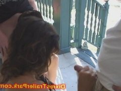 Teen and Milf PUBLIC WHOREHOUSE