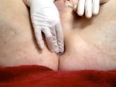 Glass Anal Plug - gaping and gaping