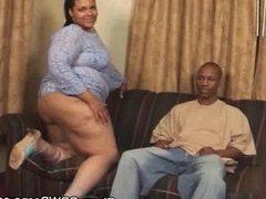 Ebony Plumper Cock Sucking