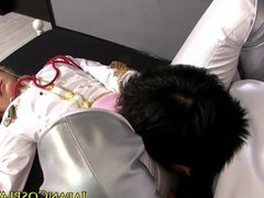 Haruki Sato as Sheryl Nome gets pussylicked