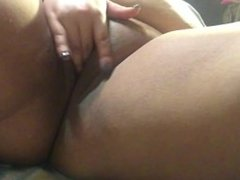 Playing with my pussy