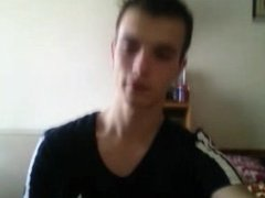 Serbian Young Boy Shows His Hard Nice Cock 1st Time On Cam