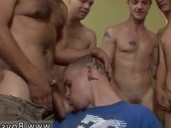 Men jacking off and showing huge loads of hot cum Tyler Blue coated in Goo