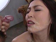 Perfect Japanese masturbation show with Sera