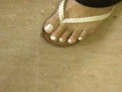 Jennifer Sexy White Toes