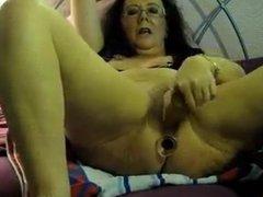 intense orgasm Grandma